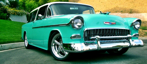 1957 Chevy Nomad - Classic Car Insurance Foremost -1-800-771-7758